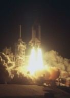 Space Shuttle Columbia STS-35 launch