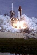 Space Shuttle STS-37 Launch