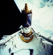 STS-43 Onboard Photograph - TDRS-E
