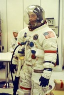 Astronaut Shepard During Space Suit Check