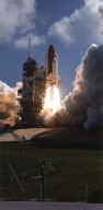 Space Shuttle Columbia liftoff
