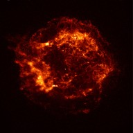 Chandra X-Ray Observatory Image of Cassiopeia A