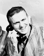 Apollo 8 Commander Frank Borman Receives Presidential Call