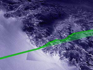 ICESat First Light Release: Antarctica, from Coast to Coast