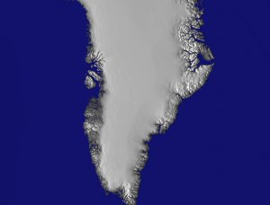 Greenland: East Coast Zoom-out without Ice Data