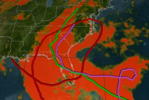 Hurricanes Frances, Ivan, and Jeanne Bring Record Rainfall