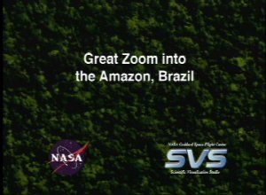 Great Zoom into the Amazon, Brazil