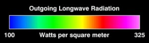 HoloGlobe: Outgoing Longwave Radiation for 1988 on a Globe