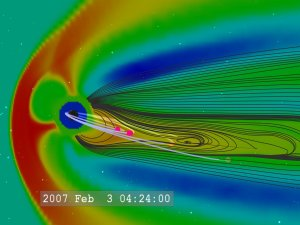 THEMIS Mission and Substorm Simulation