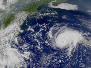 Hurricane Erin from SeaWiFS: September 10, 2001 (Version 1)