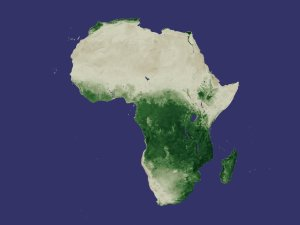 Africa NDVI Average March