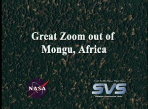 Great Zoom out of Mongu, Africa (EOS Land Validation Site)