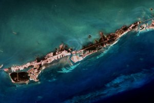 Coral Reef Flyover of the Florida keys