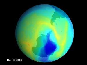 The 2003 Antarctic Ozone Hole