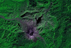 Time heals all wounds. A look at Mt. St. Helens (slower dissolve)