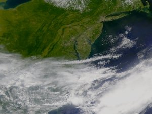 Cold Front Pushes Past the Washingon, D.C. Area (2nd Version)