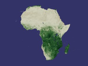 Africa NDVI 2000 March