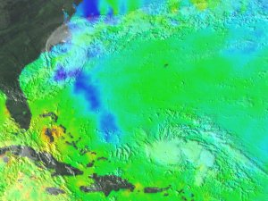 Sea Surface Temp and Hurricane Connections: TRMM and GOES, Aug. 22, 1998 through Sept. 3, 1998 (Basic version)