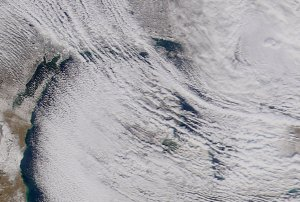 Great Lakes Cloud Cover