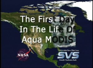 The First Day In The Life of Aqua/MODIS
