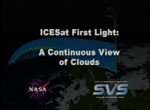 ICESat First Light Release: A Continuous View of Clouds