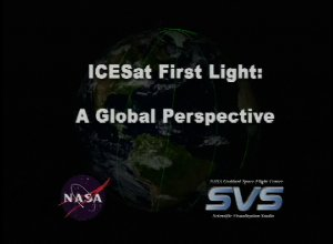 ICESat First Light Release: A Global Perspective