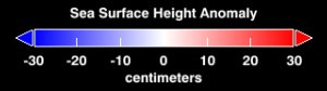 Sea Surface Height Anomaly, 2003-2005 (WMS)
