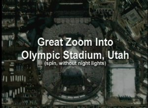 Great Zoom into Salt Lake City, UT: Rice-Eccles Olympic Stadium (with Spin)