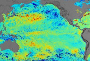 A Pacific View of Sea Surface Temperature Anomaly for February 15, 2002