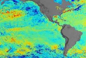 A Close View of Sea Surface Temperature Anomaly for February 15, 2002