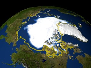 Sea Ice Minimum Concentration for 1979-2005