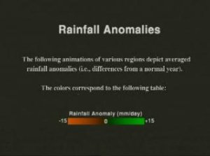Rainfall Anomalies for South America from TRMM: January, 1997, through February, 1998 (Version 2)