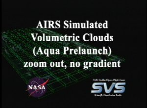 AIRS Volumetric Cloud Data (Fly Out)