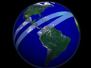 TRMM Data Swath