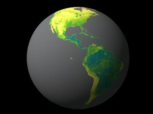Missing Link in Carbon Sink Found in Northern Forests: 3 Years of Biosphere Data, Spinning Globe