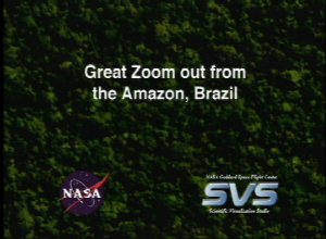 Great Zoom out of the Amazon, Brazil