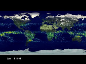 TRMM: Global Daily Rainmaps from January 8, 1998 through October 21, 2000