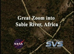 Great Zoom into Sabie River, Africa (EOS Land Validation Site)