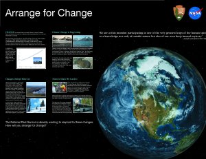Arrange for Change Poster