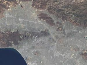 Great Zoom into Los Angeles, CA: The Hollywood Sign