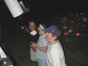 Seeing Saturn for the First Time