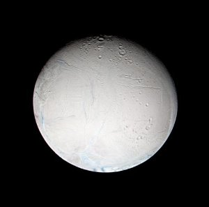 False Color Look at Enceladus