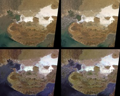 MISR View of Liquefaction Effects from the Bhuj, India, Earthquake