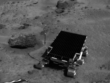 MRPS #81008 (Sol 4) Sojourner near Barnacle Bill