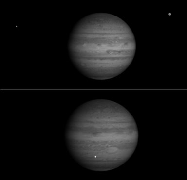 Jupiter and Europa in Near Infrared