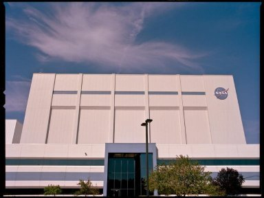 Building 9 at Goddard Space Flight Center
