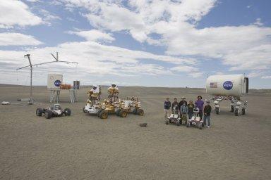 NASA MOSES LAKE DEMONSTRATIONS