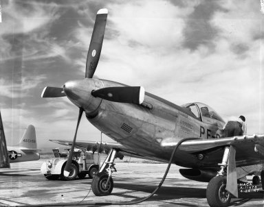 North American P-51 Airplane.