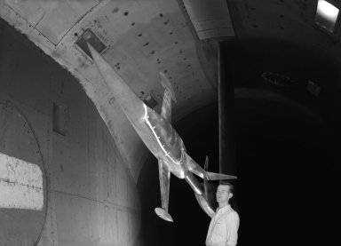 Wind tunnel tests of the MX-656model.