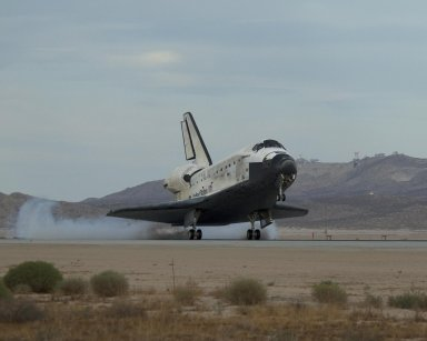 STS-128 Comes Home